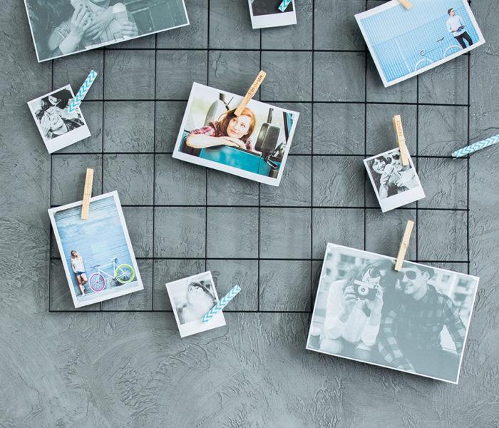 Como usar suas fotos como itens de decoração